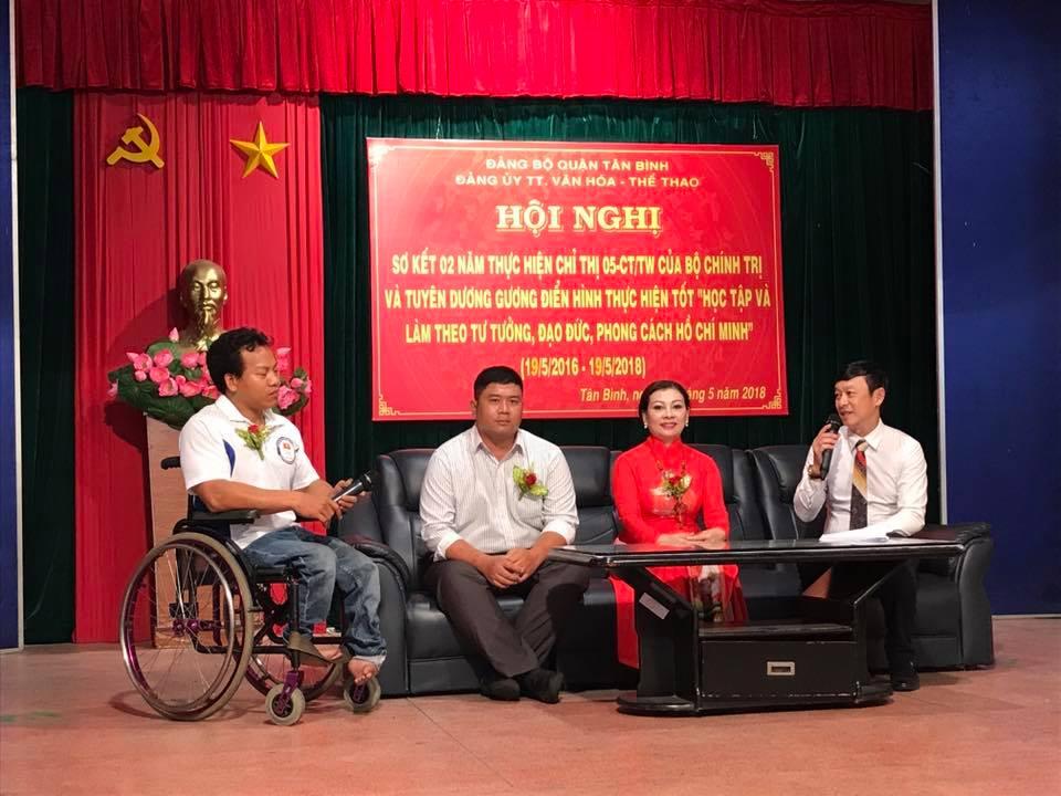 Đảng ủy TT. VH - TT Q.Tân Bình tổ chức hội nghị sơ kết thực hiện Chỉ thị 05-CT/TW của Bộ Chính trị.