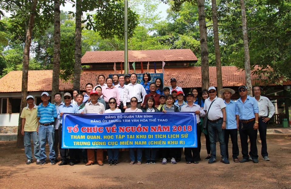 Về nguồn tại Khu di tích lịch sử căn cứ Trung ương cục miền Nam - Tây Ninh.