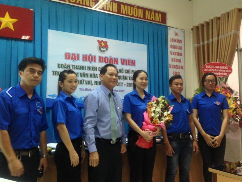Đại hội đoàn viên Chi đoàn Trung tâm Văn hóa - Thể thao quận Tân Bình lần thứ VIII, nhiệm kỳ 2017 - 2019