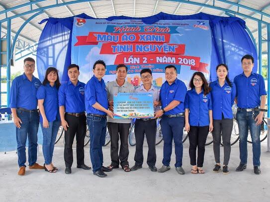 Chương trình Hành trình màu xanh tình nguyện lần 2 năm 2018