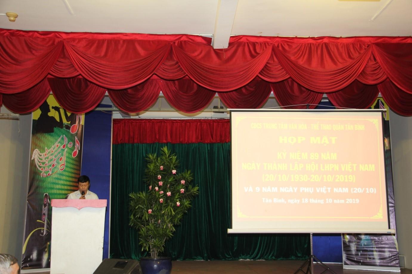 Tổ chức Họp mặt kỷ niệm 89 năm ngày thành lập Hội Liên hiệp phụ nữ Việt Nam