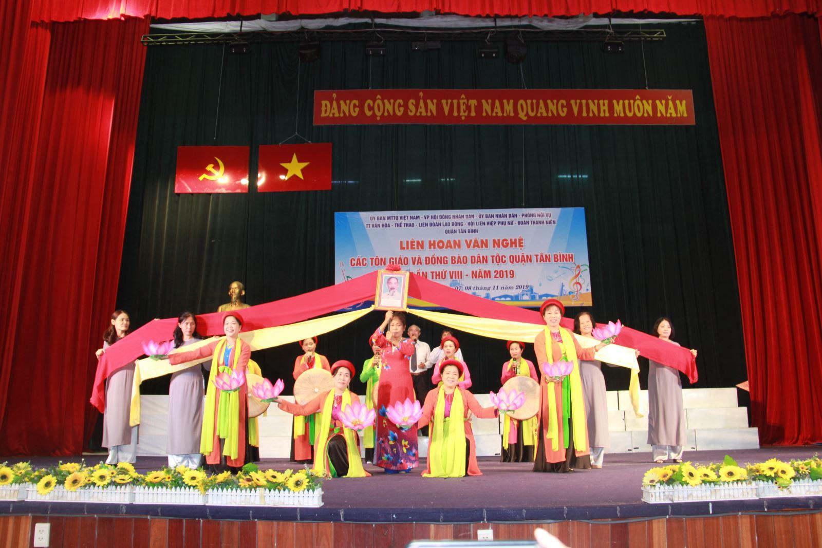 Quận Tân Bình tổ chức Liên hoan văn nghệ các Tôn giáo và đồng bào Dân tộc, lần thứ VIII năm 2019