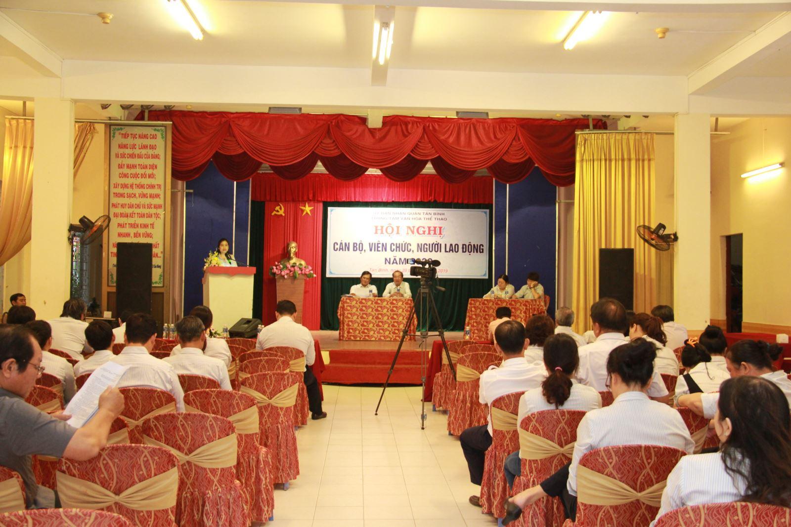 Tổ chức Hội nghị cán bộ, viên chức, người lao động năm 2020