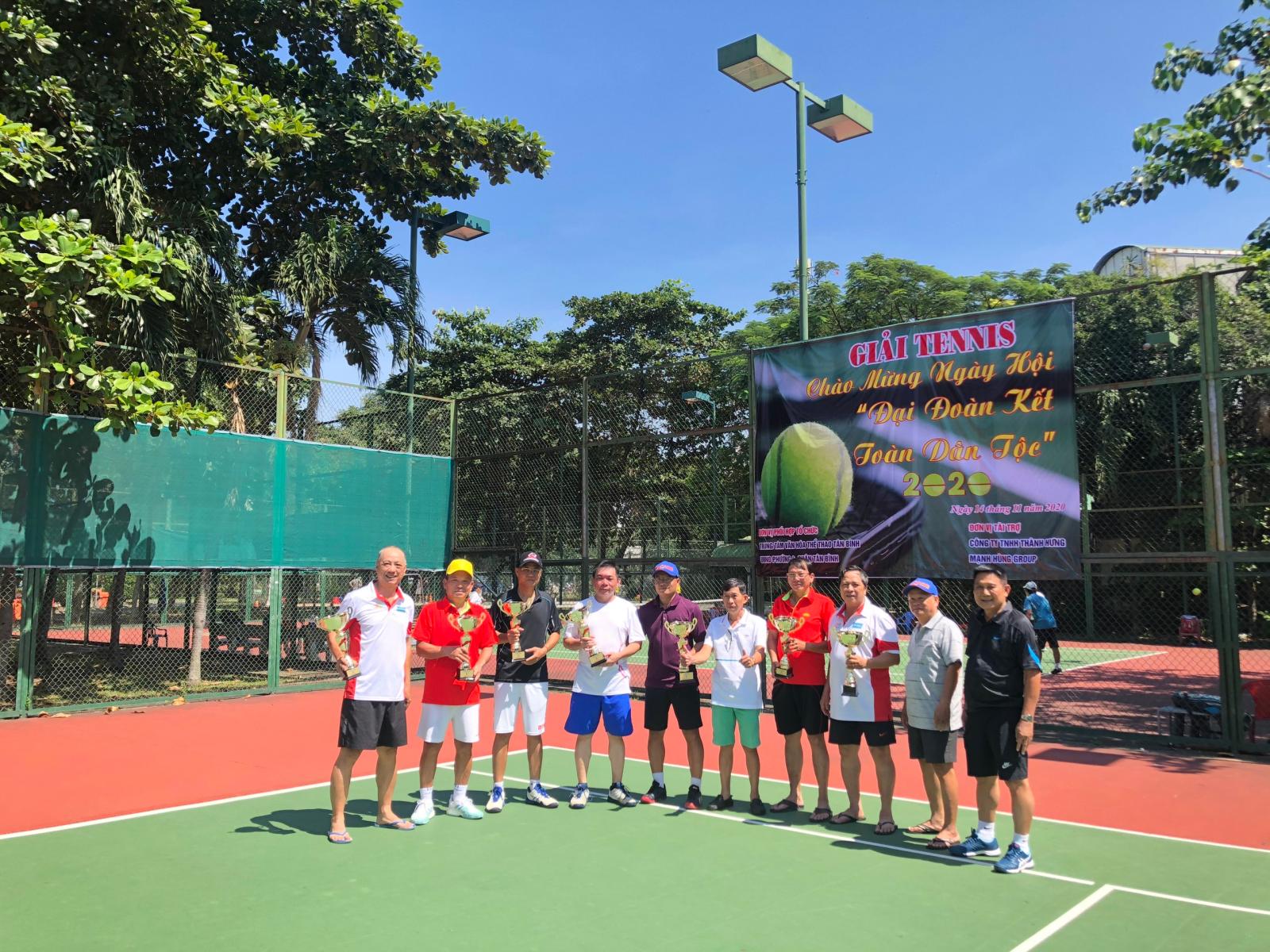 Phường 4: Phối hợp tổ chức giải quần vợt