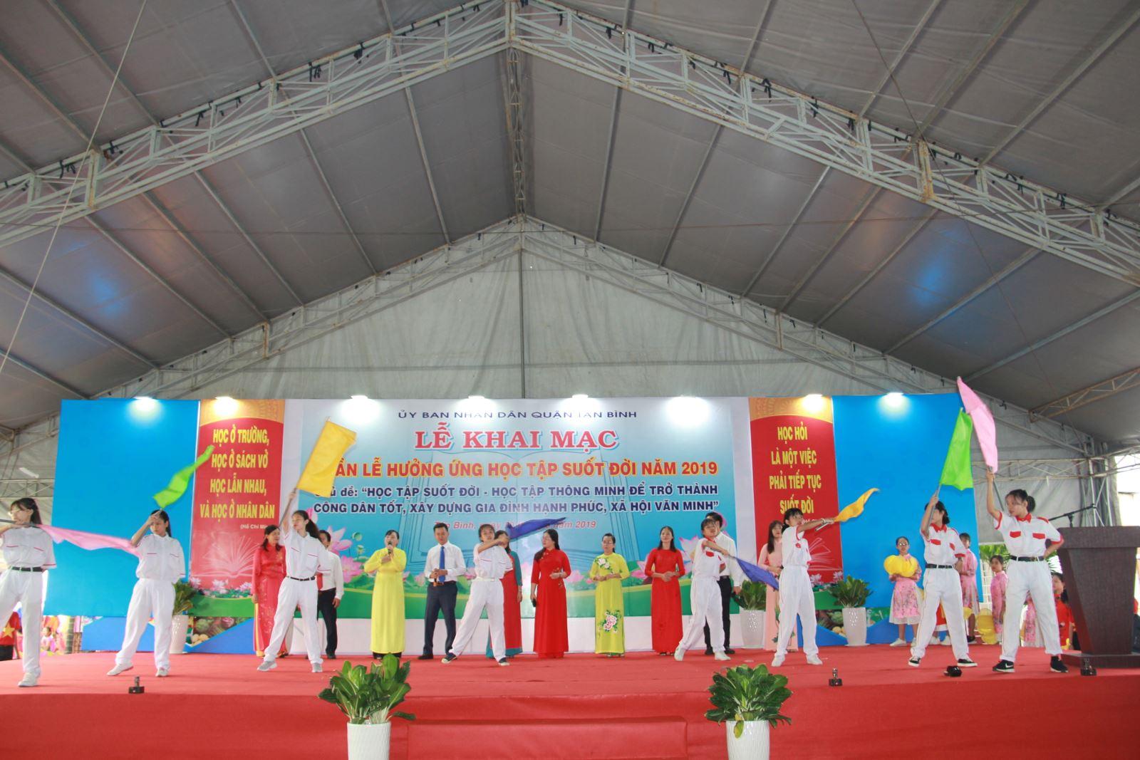 Quận Tân Bình: Tổ chức Lễ khai mạc ``Tuần lễ hưởng ứng học tập suốt đời năm 2019``
