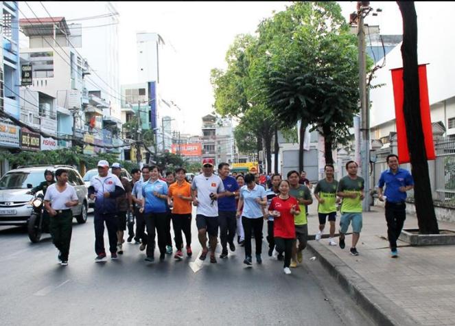 Quận Tân Bình: Hơn 1.200 người tham gia Ngày chạy Olympic 2018
