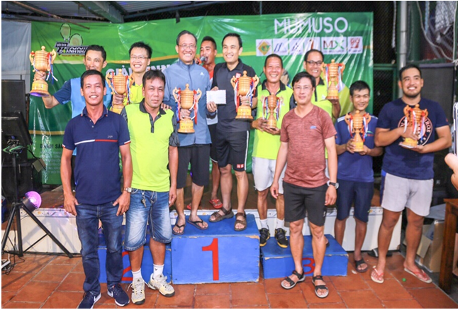 Phường 13: Giải Tennis gây quỹ từ thiện Vì người nghèo.