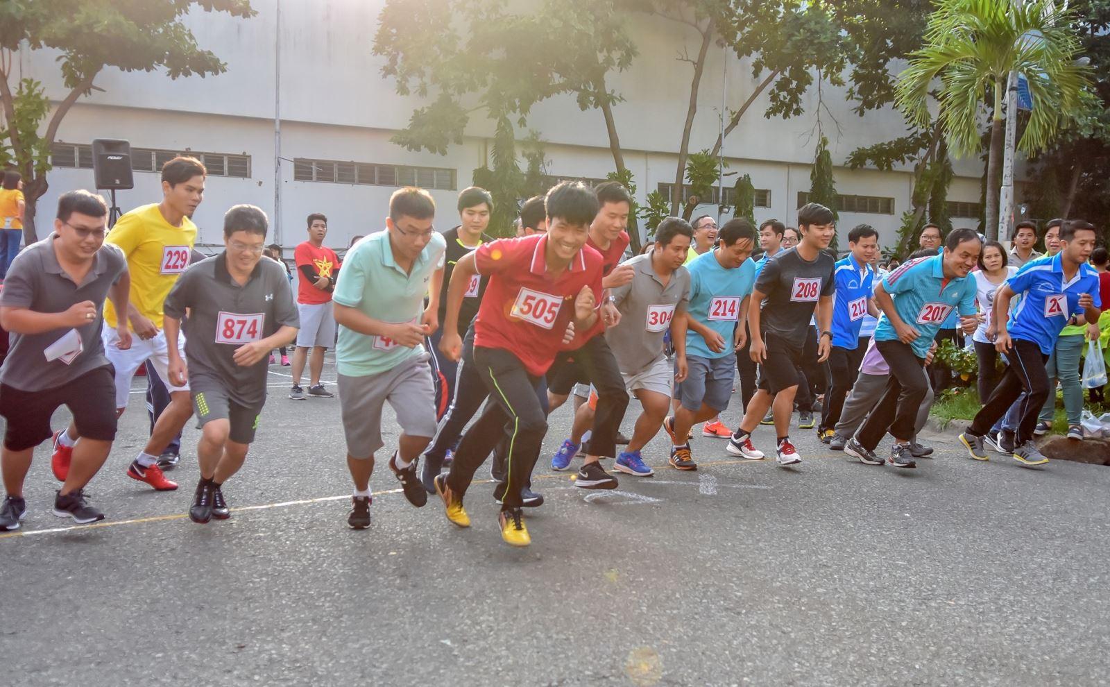 Giải việt dã công nhân, viên chức, lao động quận Tân Bình
