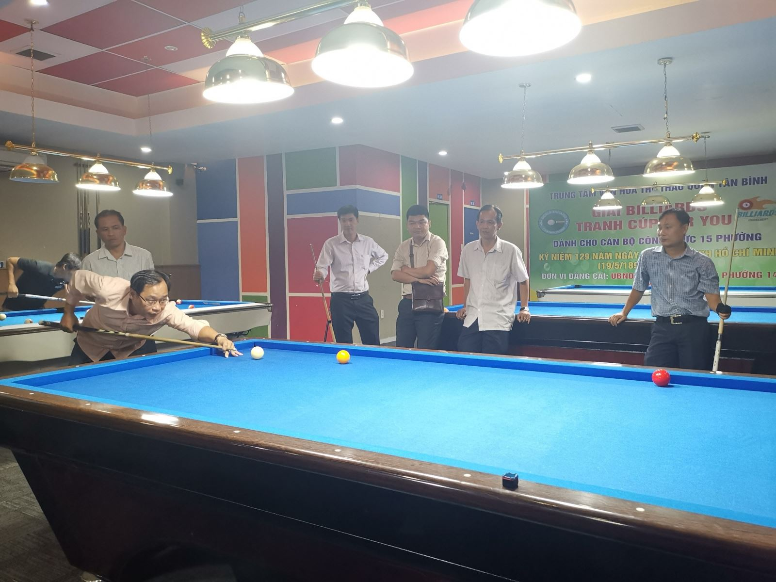 Phường 14: Tổ chức giải Billiards tranh Cúp For You.