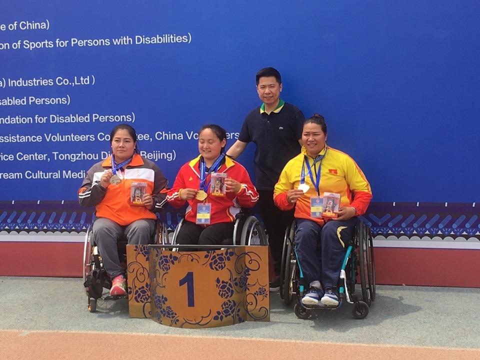 Đội tuyển Điền kinh thể thao Người khuyết tật tham dự Giải Vô địch Điền kinh quốc tế tại Bắc kinh - Trung quốc năm 2019