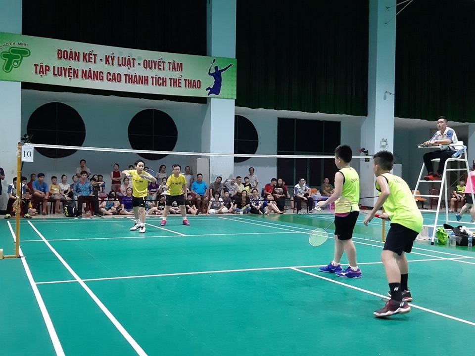 Đội tuyển Cầu lông quận Tân Bình tham dự giải cầu lông năng khiếu trẻ Tp. Hồ Chí Minh