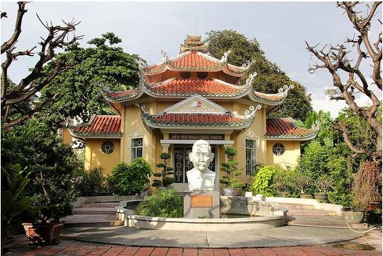 Mộ cụ Phan Chu Trinh