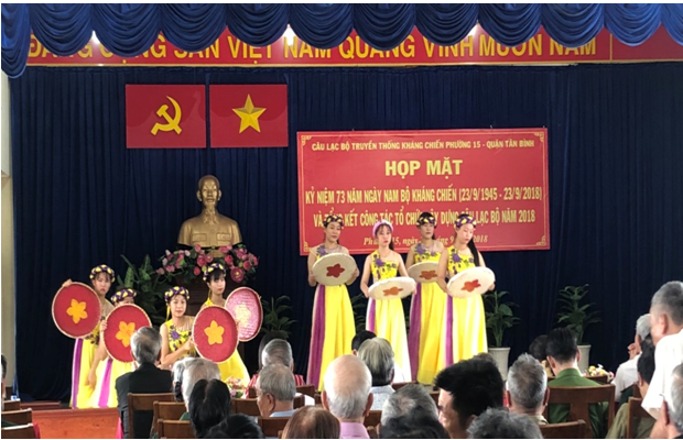 Phường 15: Họp mặt kỷ niệm ngày Nam Bộ kháng chiến (23/9/1945 - 23/9/2018)