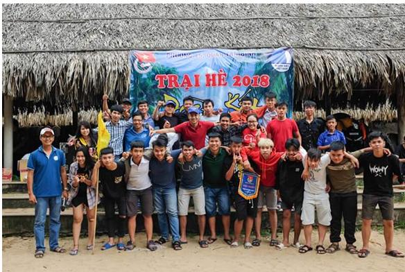 Phường 15: Trại hè đoàn kết năm 2018.