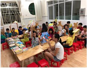 Phường 4: Tổ chức ngày hội sách cho các em thiếu nhi hè năm 2018.