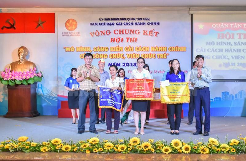 Quận Tân Bình tổ chức hội thi Cải cách hành chính
