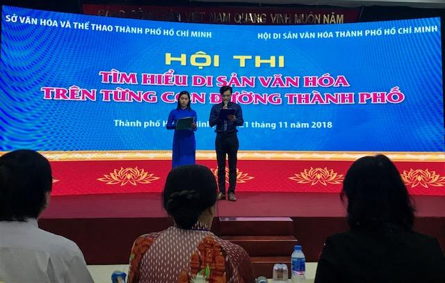 Hội thi Di sản văn hóa trên từng con đường TP. Hồ Chí Minh năm 2018