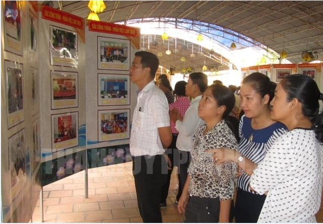 Quận Tân Bình: Triển lãm học tập làm theo tư tưởng, đạo đức, phong cách Hồ Chí Minh.