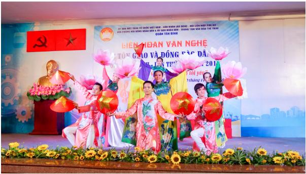 Liên hoan Văn nghệ các Tôn giáo và Dân tộc quận Tân Bình, lần thứ VII - năm 2018