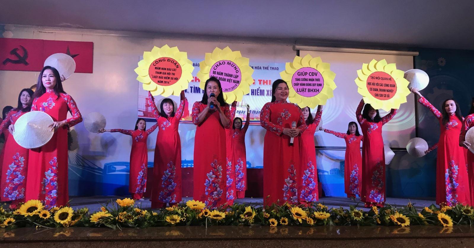 Chung kết Hội thi ``Tuyên truyền, tìm hiểu về Luật Bảo hiểm xã hội`` quận Tân Bình năm 2019