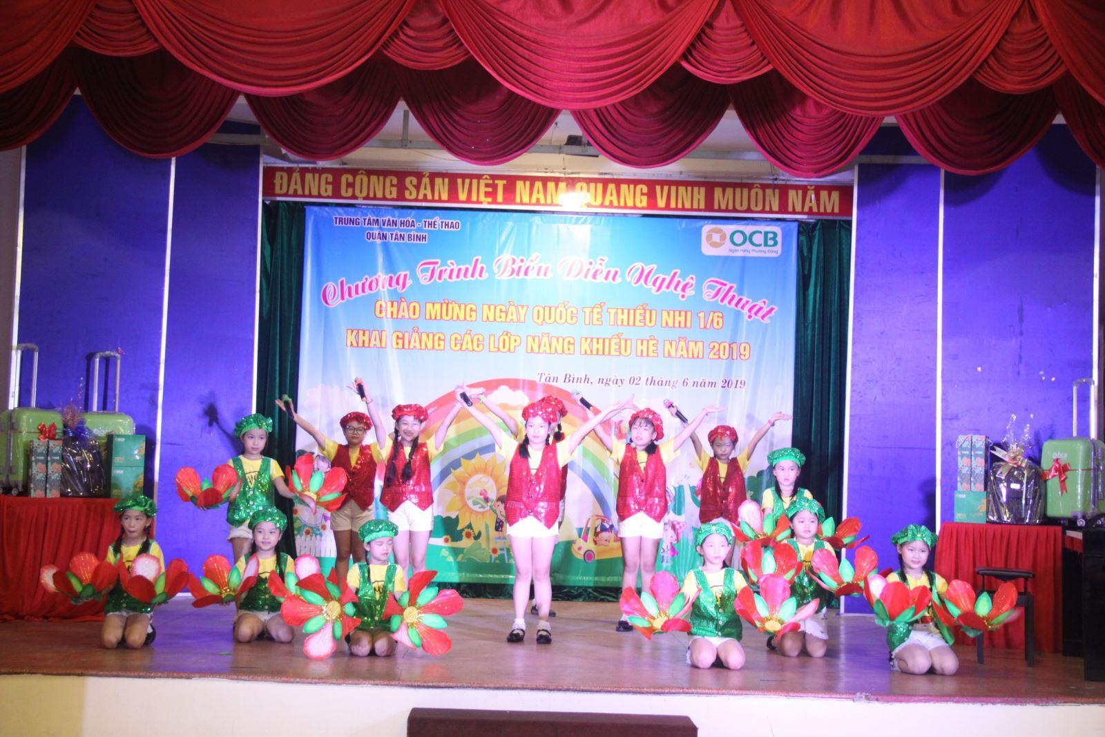 TT Văn hóa - Thể thao quận Tân Bình khai giảng các lớp năng khiếu hè 2019