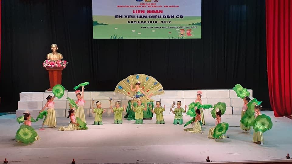 Sôi nổi liên hoan Em yêu làn điệu dân ca quận Tân Bình năm 2019