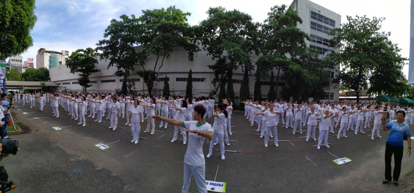 Ngày hội chăm sóc sức khỏe người cao tuổi quận Tân Bình
