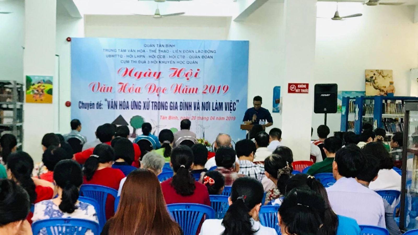 Ngày hội Văn hóa đọc năm 2019