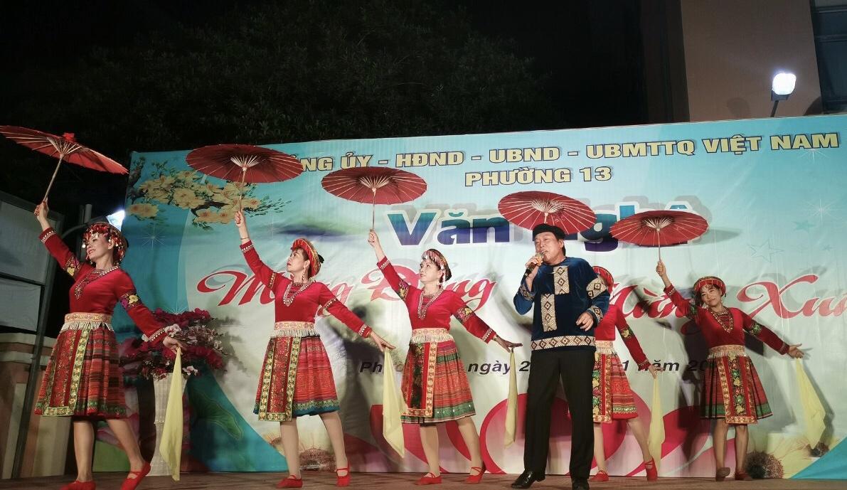 """Phường 13: Ngày Hội xuân 2019 """"Xuân hạnh phúc - Tết sum vầy"""""""
