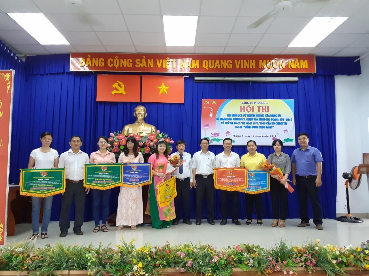 Phường 3: Hội thi tìm hiểu lịch sử Đảng bộ và Nhân dân phường 3, quận Tân Bình giai đoạn 1930 - 2015