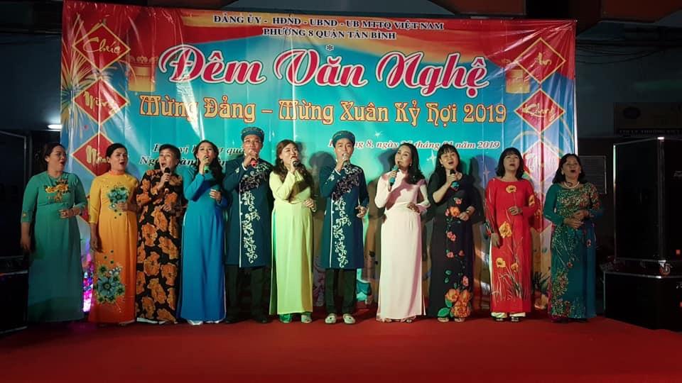 Phường 8: Tổ chức đêm văn nghệ mừng Đảng, mừng xuân năm 2019