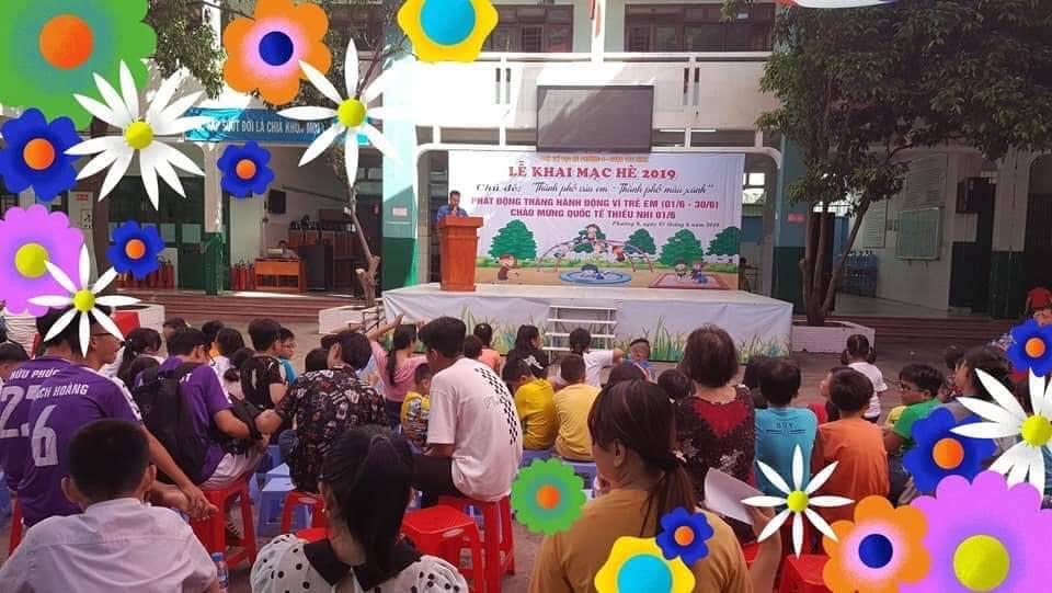 Phường 9: Tổ chức khai mạc hè và phát động tháng hành động vì trẻ em năm 2019