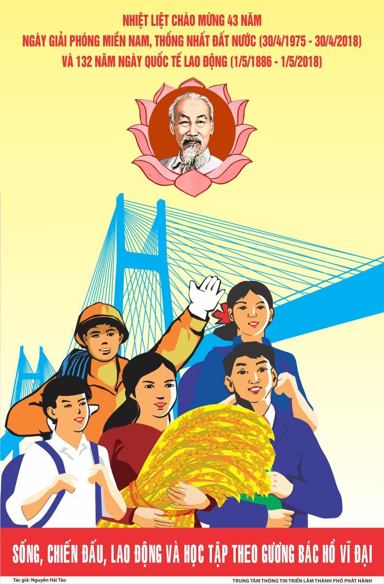 Tuyên truyền kỷ niệm 132 năm ngày Quốc tê lao động (01/5/1886 - 01/5/2018)
