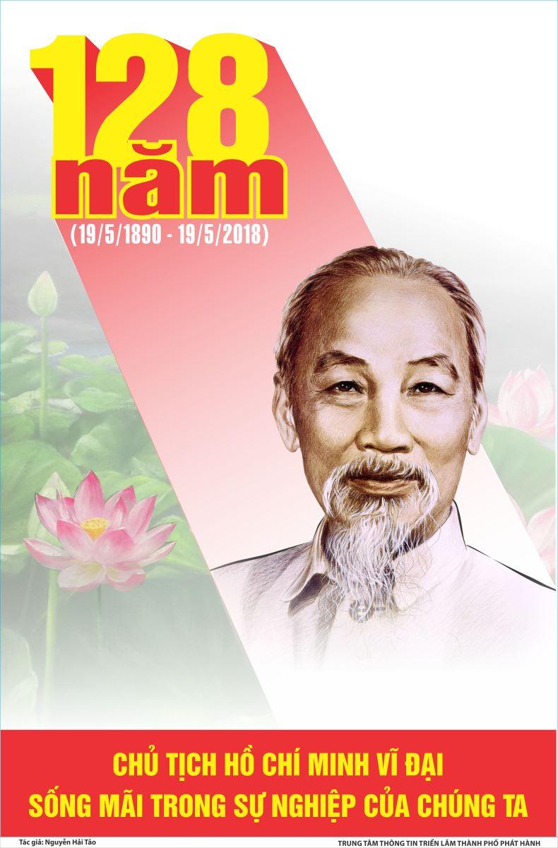 Tuyên truyền kỷ niệm 128 năm ngày sinh Chủ tịch Hồ Chí Minh (19/5/1890 - 19/5/2018)