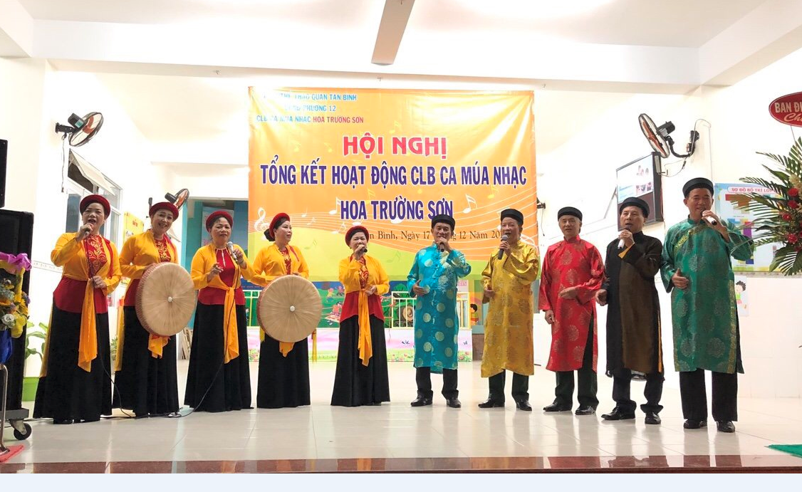 TT. VH-TT Q.TB: CLB Hoa Trường Sơn tổng kết hoạt động năm 2018.