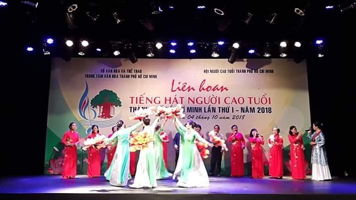 TT. VH-TT: CLB Nắng Mới tham gia Liên hoan tiếng hát Người cao tuổi Thành phố Hồ Chí Minh lần I - năm 2018