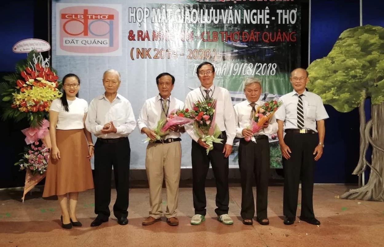TT. VH - TT Q.TB: CLB Thơ Đất Quảng giao lưu văn nghệ - thơ và ra mắt Ban chủ nhiệm nhiệm kỳ 2018 - 2020.