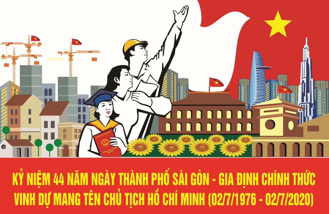Kỷ niệm 44 năm Ngày Thành phố Sài Gòn - Gia Định chính thức vinh dự mang tên Chủ tịch Hồ Chí Minh