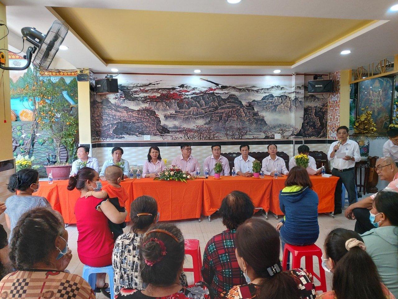 Phường 10: Tổ chức đoàn đến thăm, chúc Tết cổ truyền Chôl Chnăm Thmây năm 2021