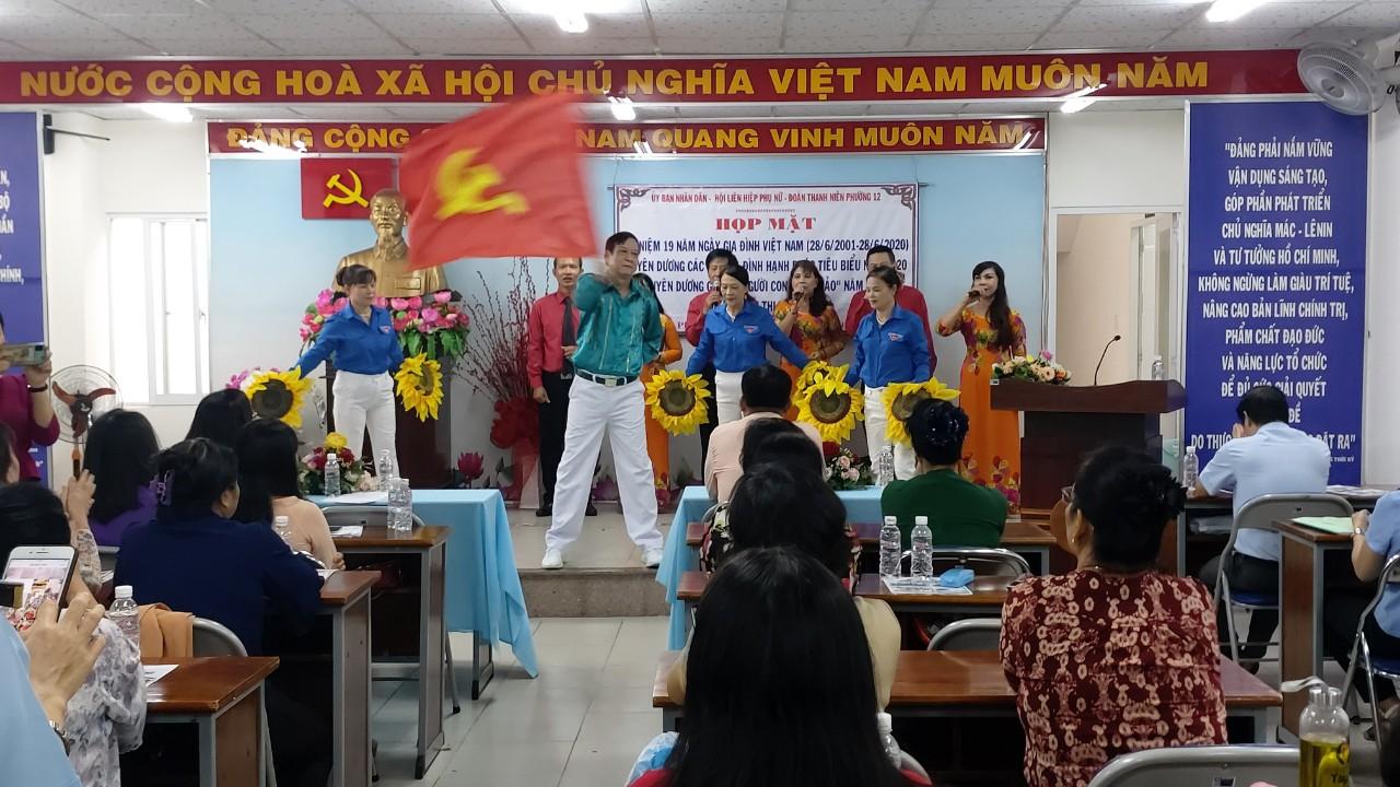 Phường 12: Tổ chức các hoạt động kỷ niệm Ngày Gia đình Việt Nam (28/6)
