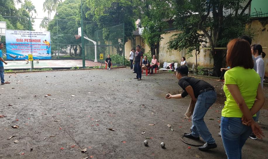 Phường 4: Tổ chức Giải Petanque