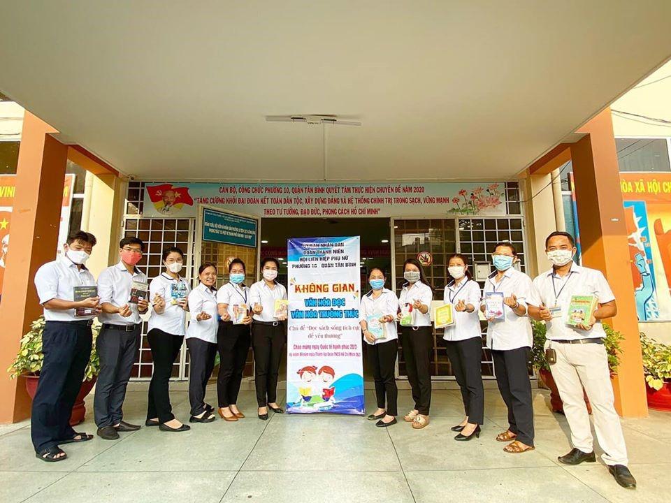Luân chuyển Sách phục vụ Tủ Sách cơ sở trên địa bàn quận Tân Bình năm 2020