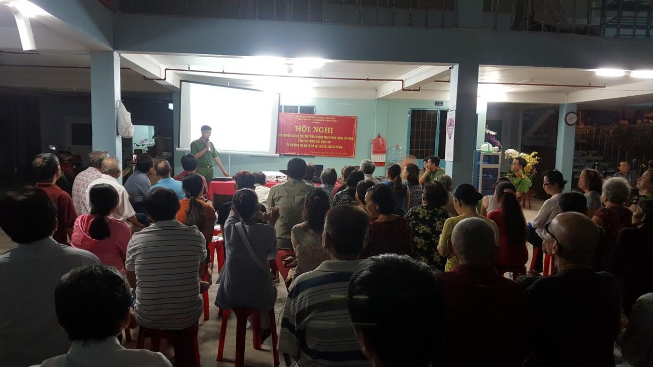 Phường 8: Tổ chức tuyên truyền Luật cư trú; Phát động phong trào Phòng chống tội phạm, phòng cháy chữa cháy
