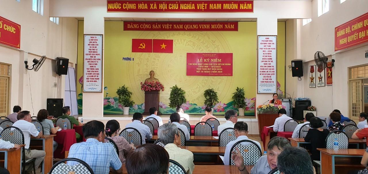 Phường 8: Tổ chức Lễ kỷ niệm 130 năm ngày sinh Chủ tịch Hồ Chí Minh
