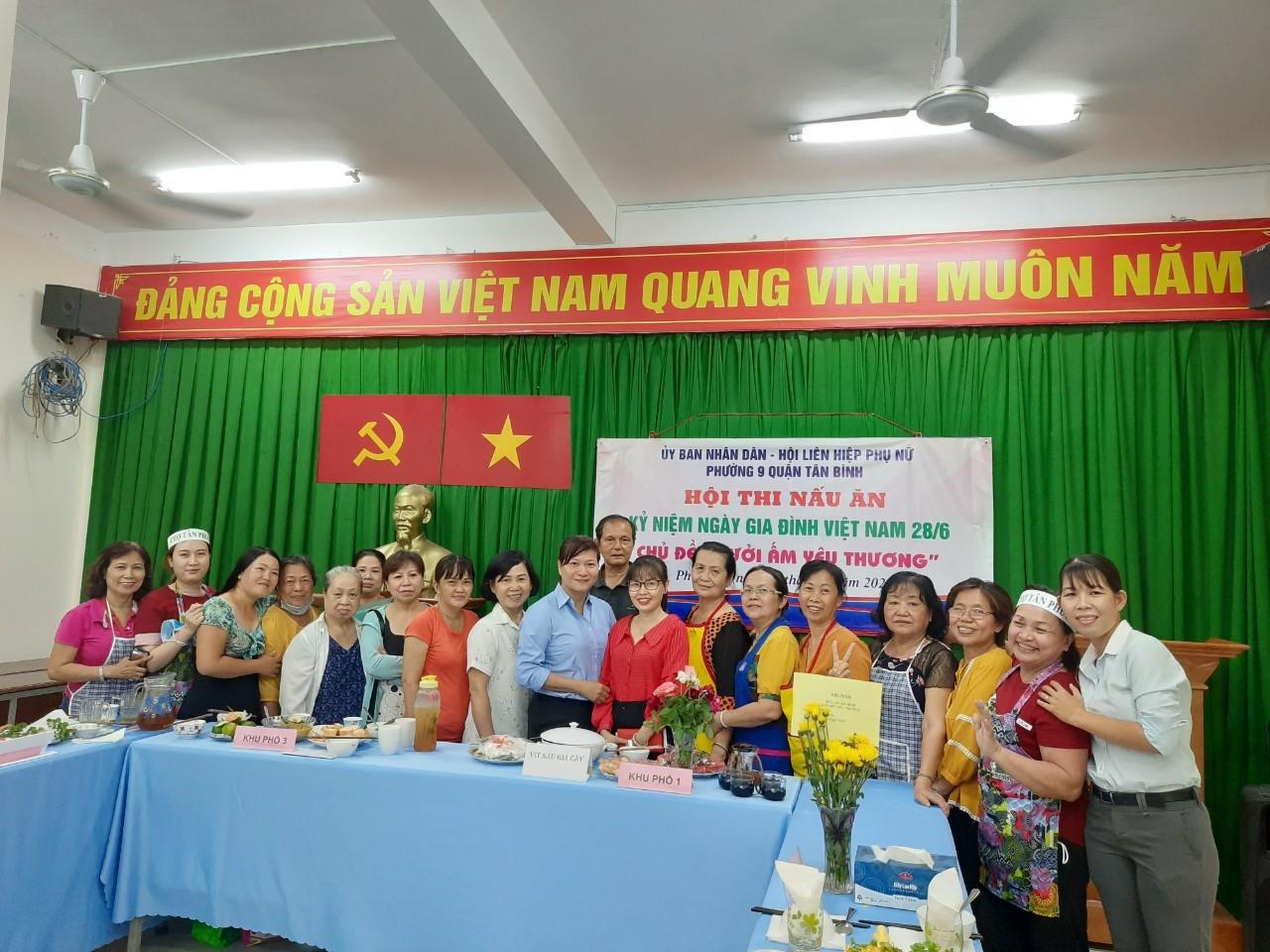 Phường 9: Tổ chức Họp mặt kỷ niệm 19 năm ngày gia đình Việt Nam (28/6)