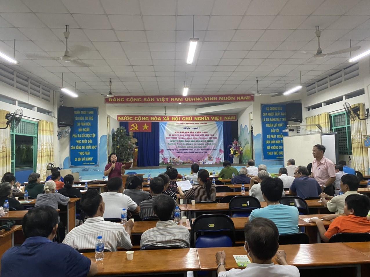 Phường 6: Tổ chức các hoạt động kỷ niệm 19 năm Ngày gia đình Việt Nam (28/6)