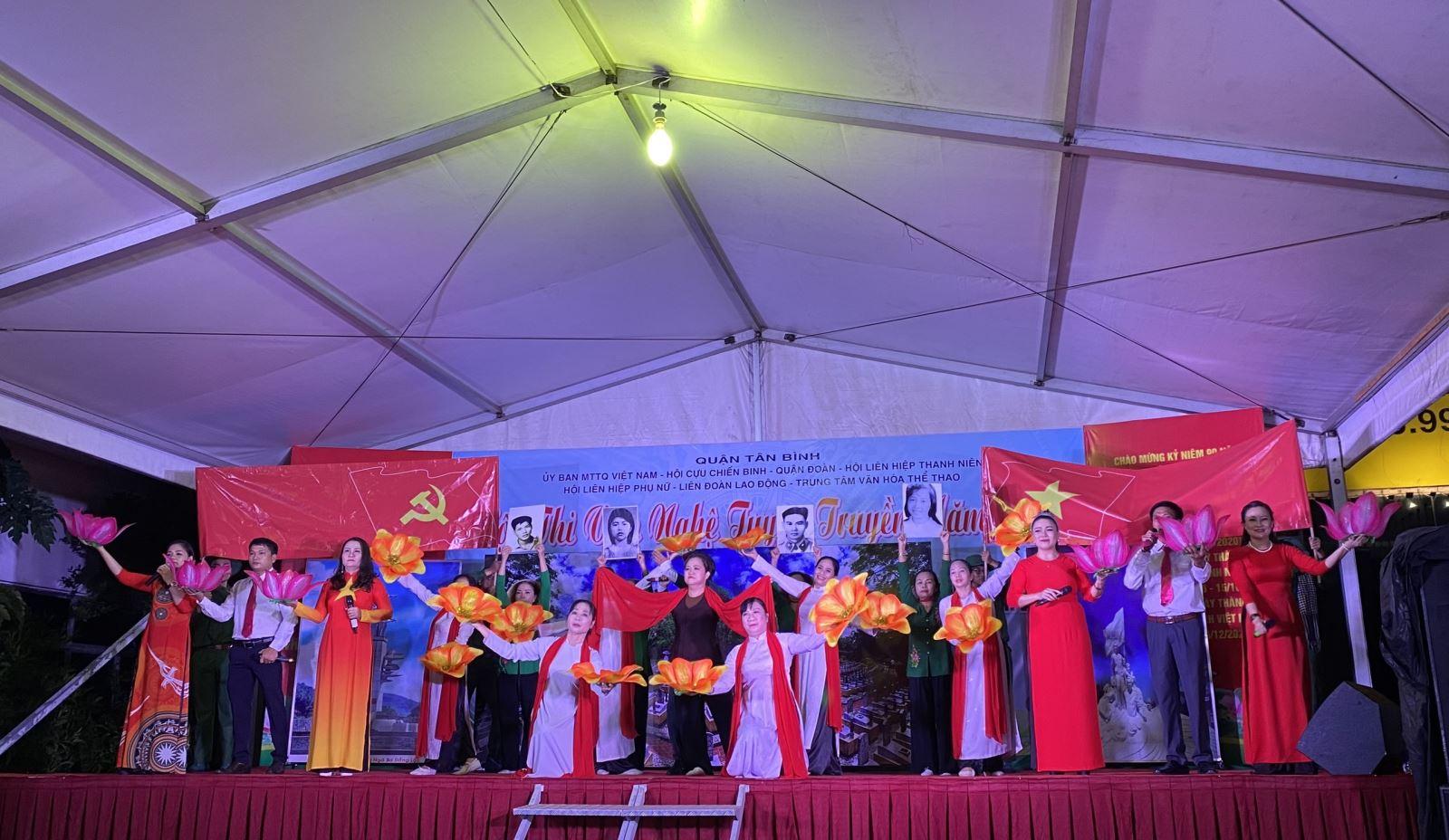 Tổ chức Hội thi Văn nghệ tuyên truyền quận Tân Bình lần thứ III năm 2020