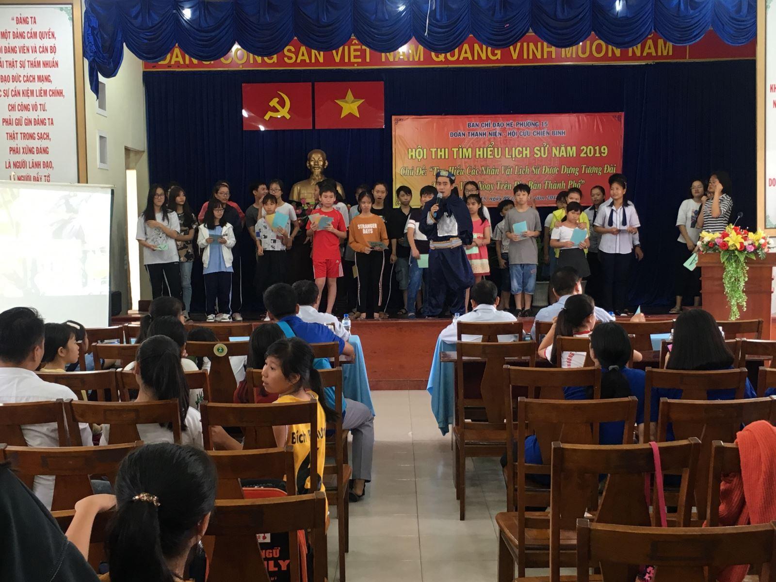 Phường 15: Tổ chức Hội thi tìm hiểu lịch sử năm 2019